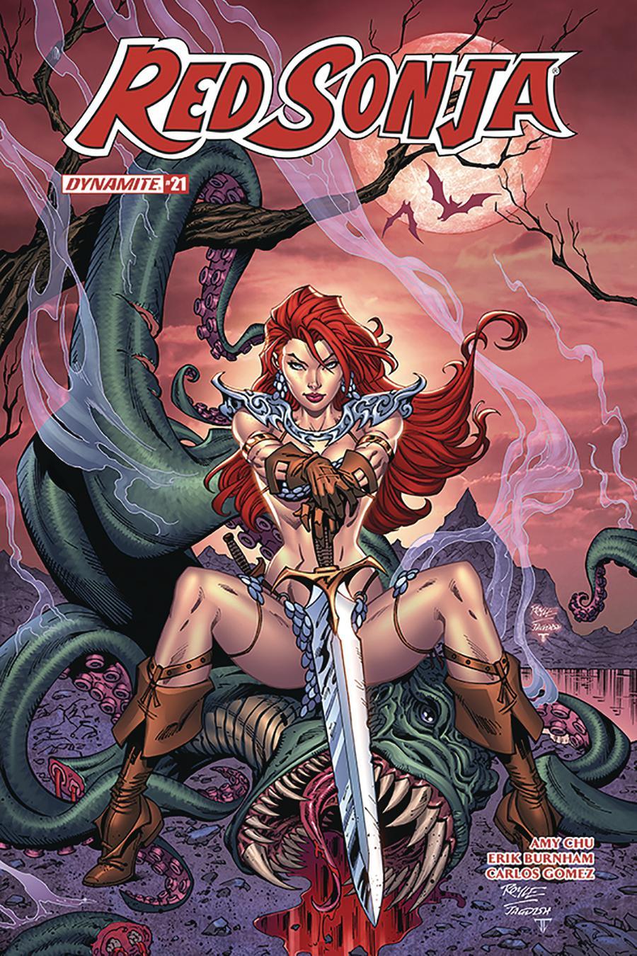 Red Sonja Vol 7 #21 Cover D Variant John Royle Cover