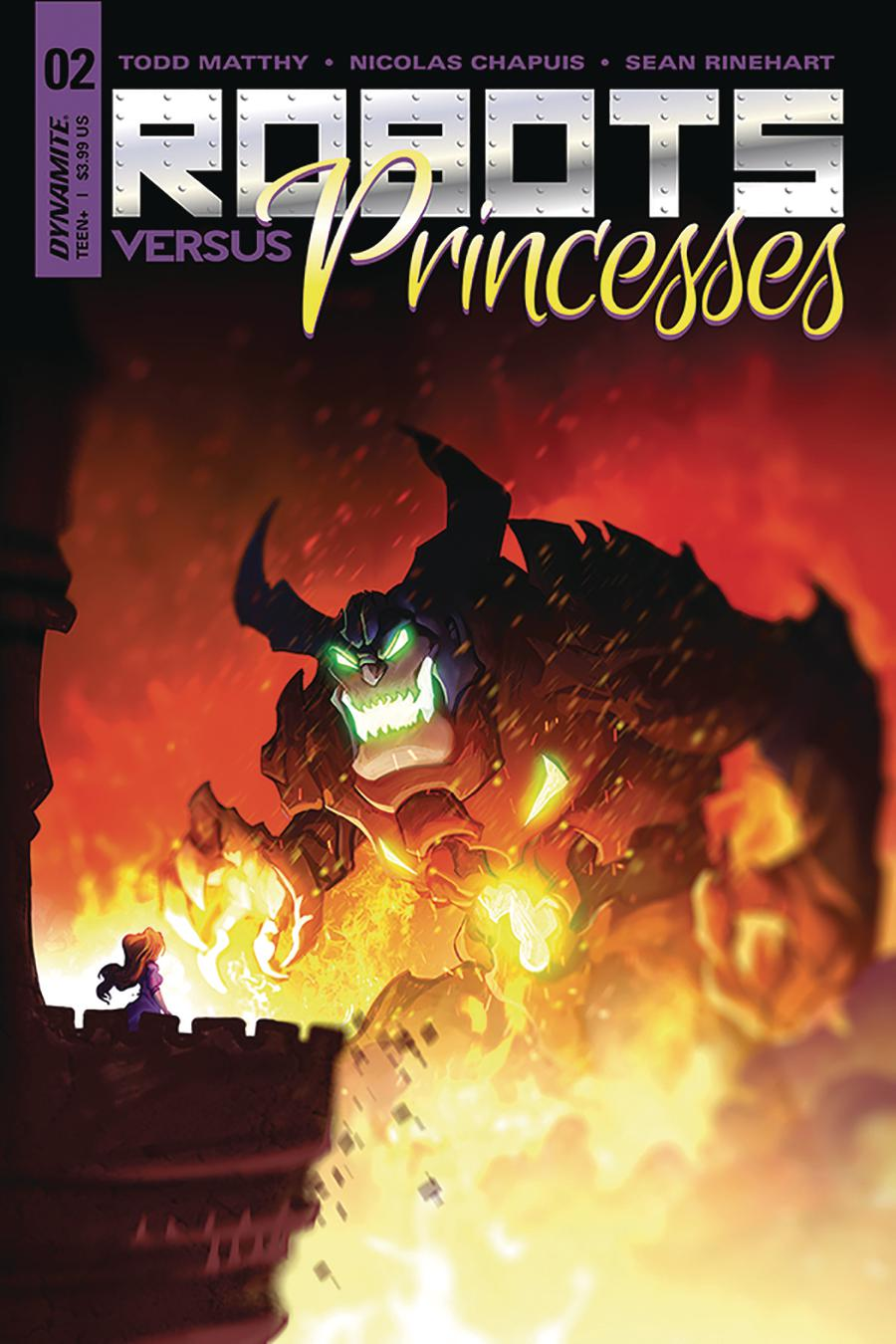Robots vs Princesses #2 Cover A Regular Nicolas Chapuis Cover