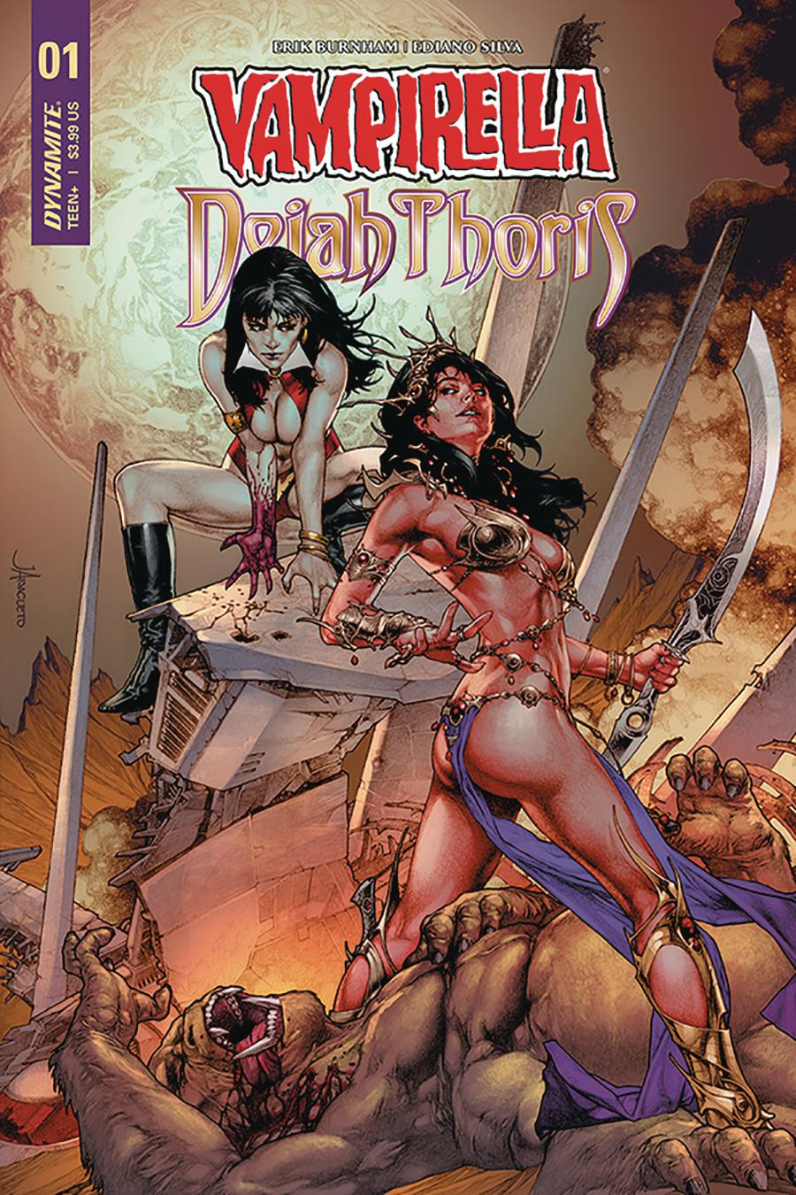Vampirella Dejah Thoris #1 Cover A Regular Jay Anacleto Cover