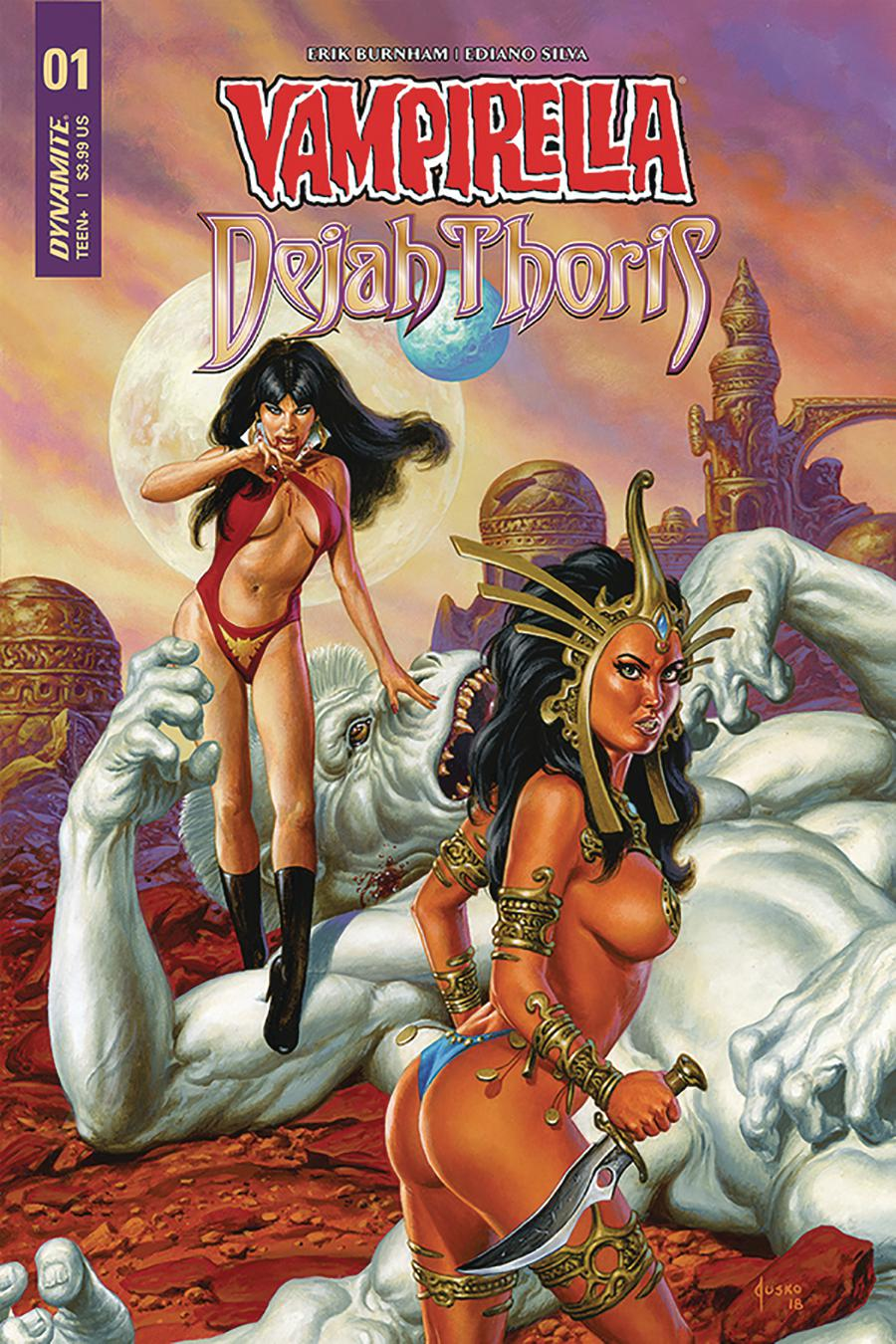 Vampirella Dejah Thoris #1 Cover D Variant Joe Jusko Cover