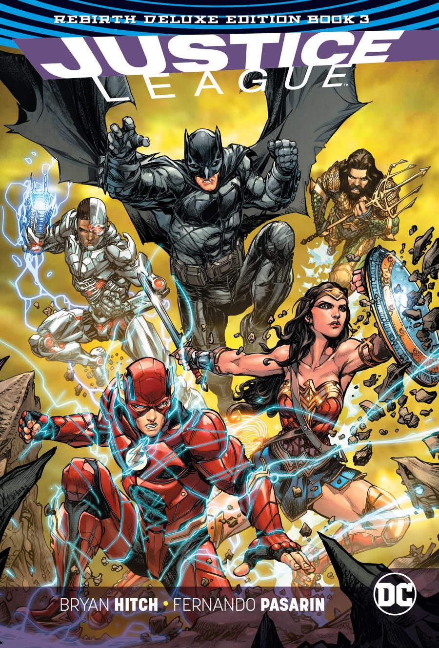 Justice League Rebirth Deluxe Edition Book 3 HC