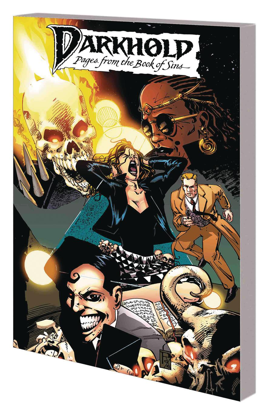 Darkhold Pages From The Book Of Sins Complete Collection TP