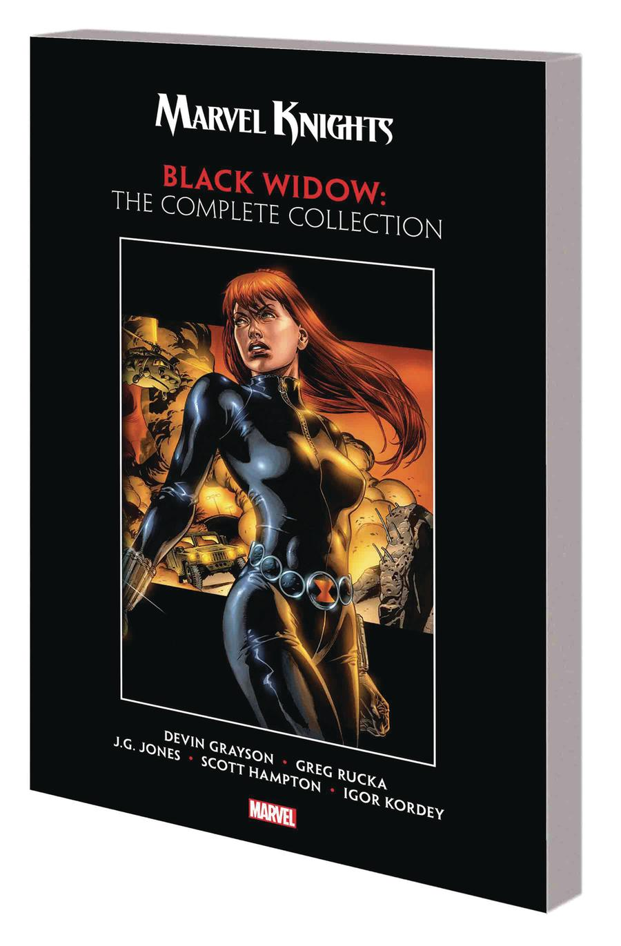 Marvel Knights Black Widow By Devin Grayson & Greg Rucka Complete Collection TP
