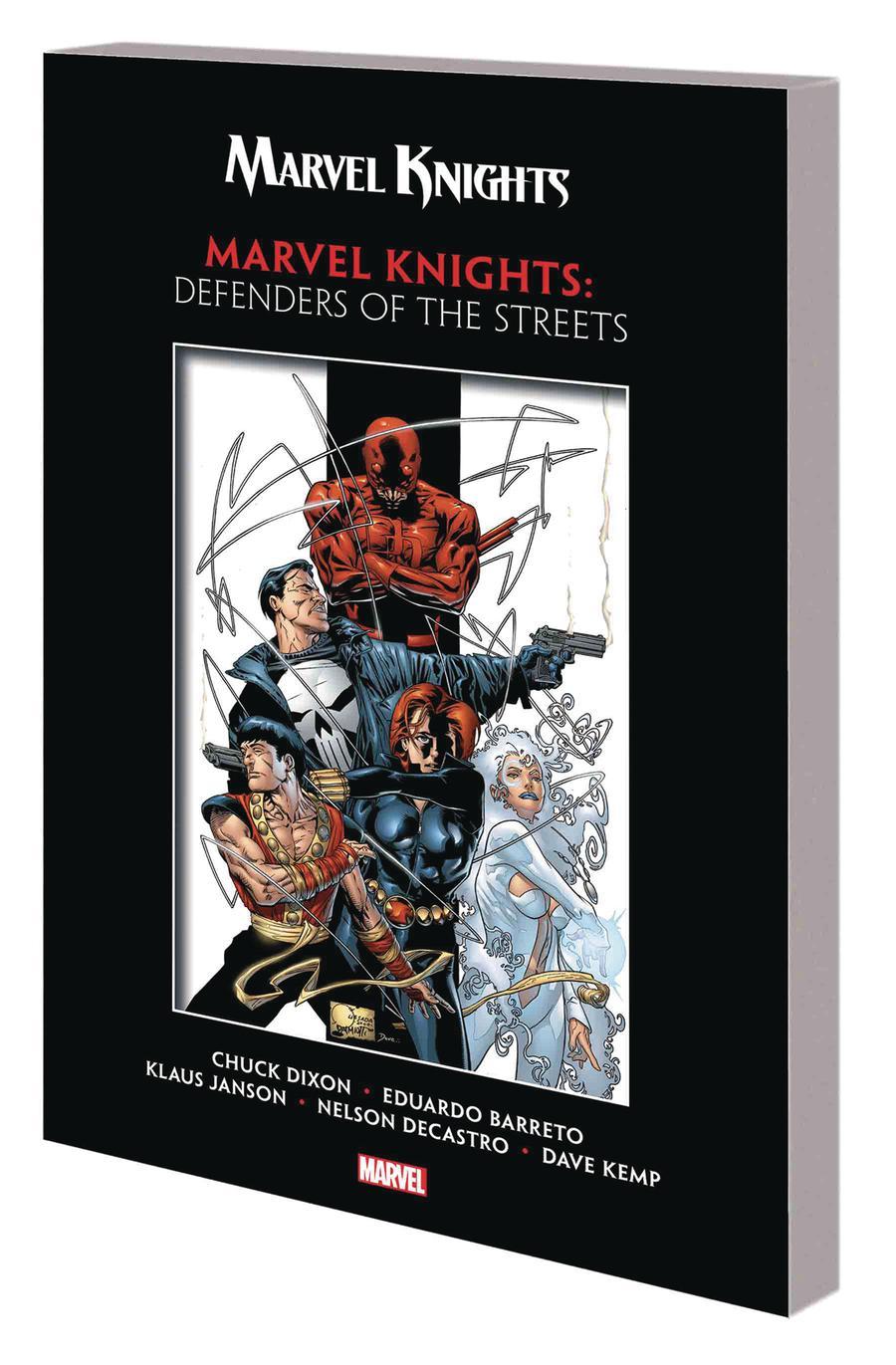 Marvel Knights By Chuck Dixon & Eduardo Barreto Defenders Of The Streets TP