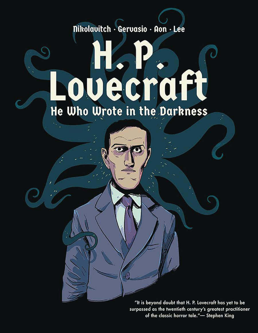 HP Lovecraft He Who Wrote In The Darkness HC