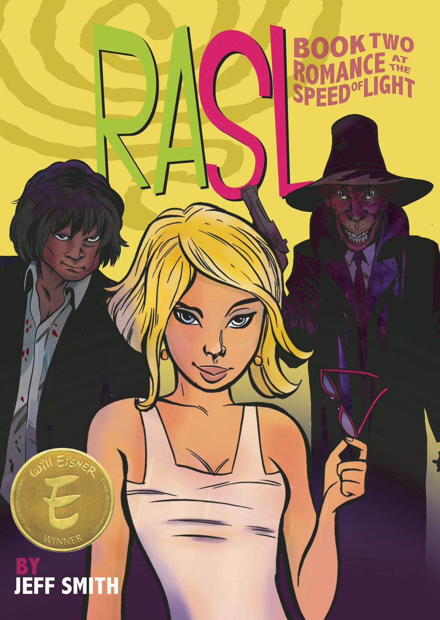 Rasl Color Edition Book 2 Romance At The Speed Of Light TP