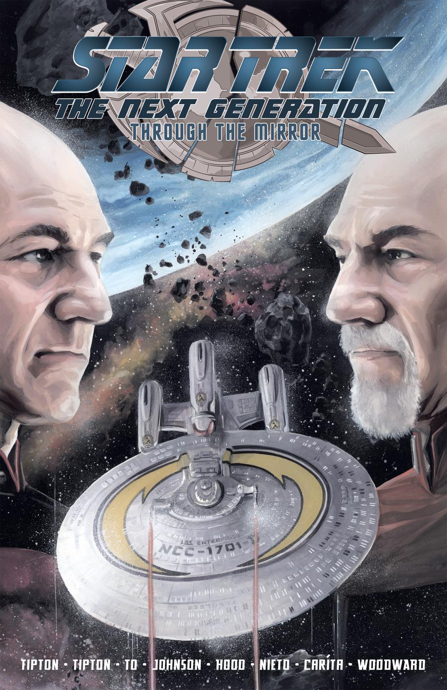 Star Trek The Next Generation Through The Mirror TP