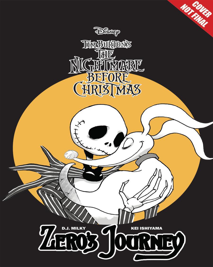 Disney Manga Tim Burtons Nightmare Before Christmas Zeros Journey Vol 1 GN