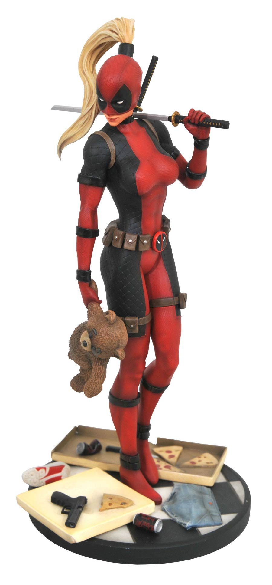 Marvel Comic Premier Collection Lady Deadpool Statue