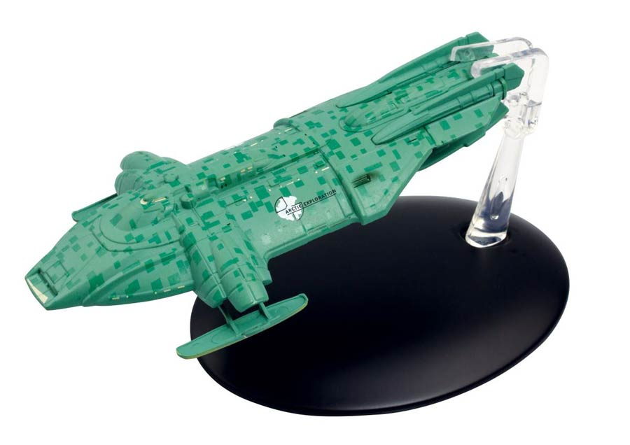 Star Trek Starships Figure Collection Magazine #131 Arctic Explorer