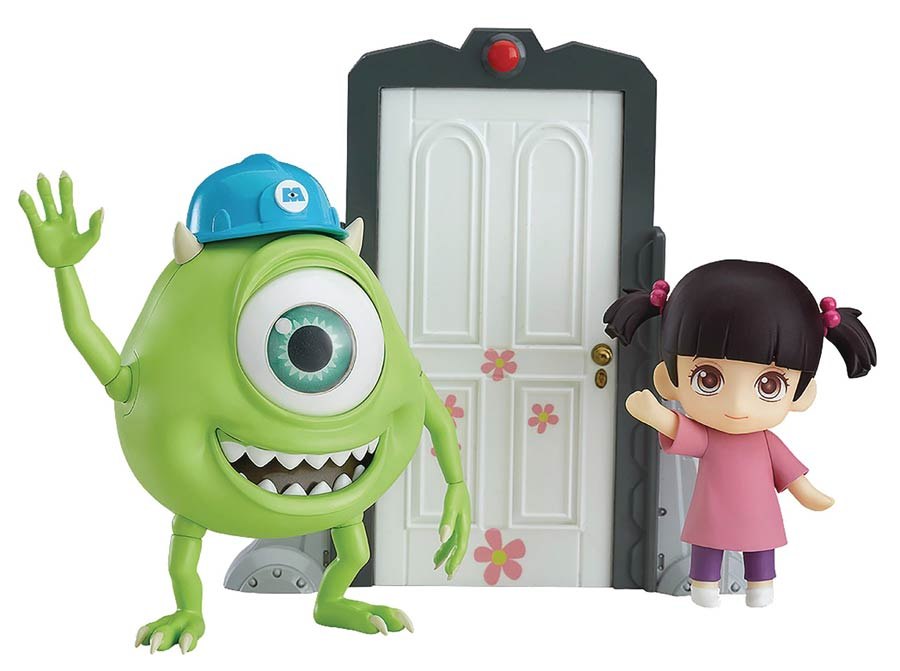 Monsters Inc Mike & Boo Nendoroid Deluxe Set