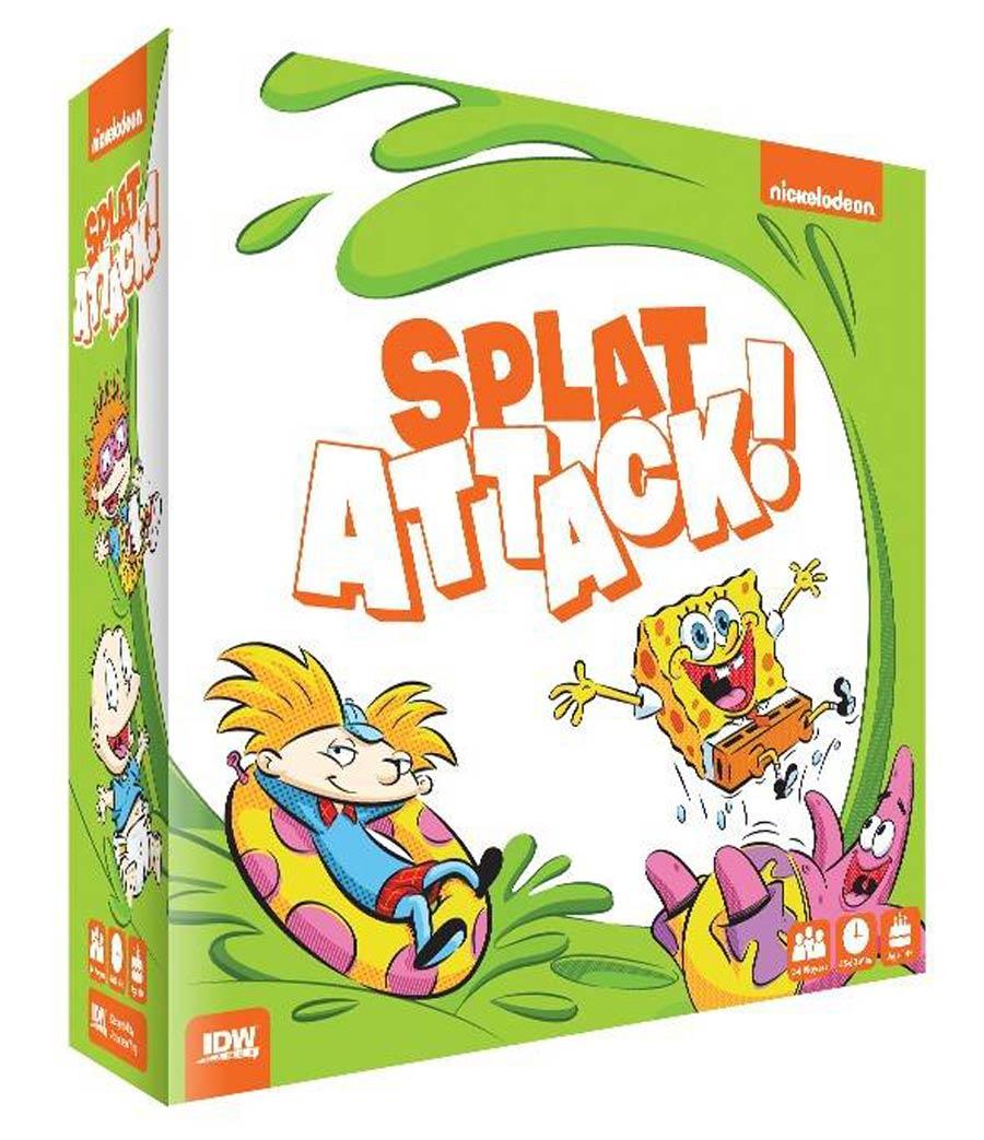 Nickelodeons Splat Attack