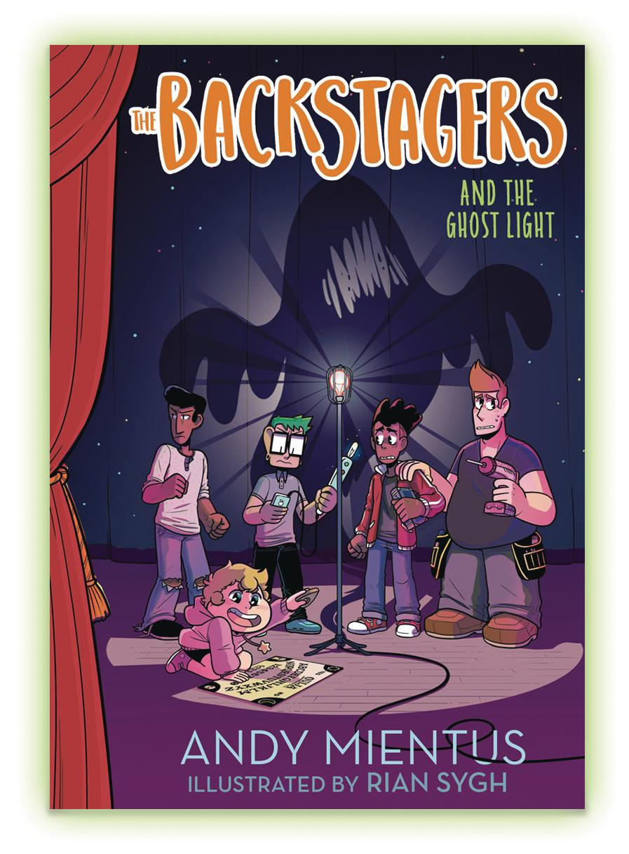 Backstagers Illustrated Novel Vol 1 Backstagers And The Ghost Light HC