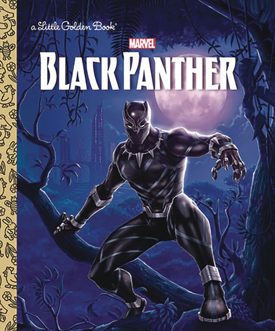 Black Panther Warriors Of Wakanda Little Golden Book HC