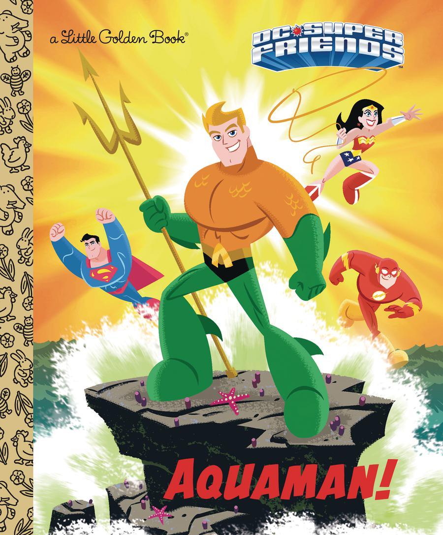 DC Super Friends Aquaman Little Golden Book HC