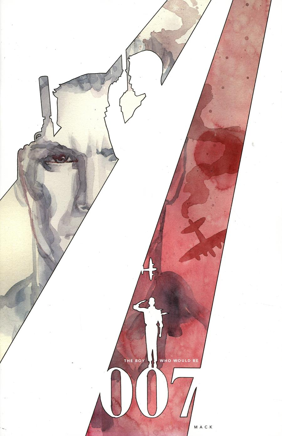 James Bond Origin #1 Cover H Incentive David Mack Virgin Cover