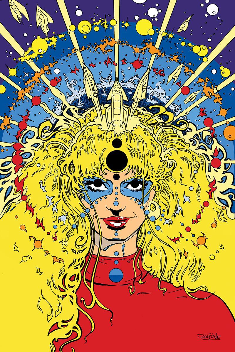 Barbarella #10 Cover H Incentive Justine Anderson Virgin Cover
