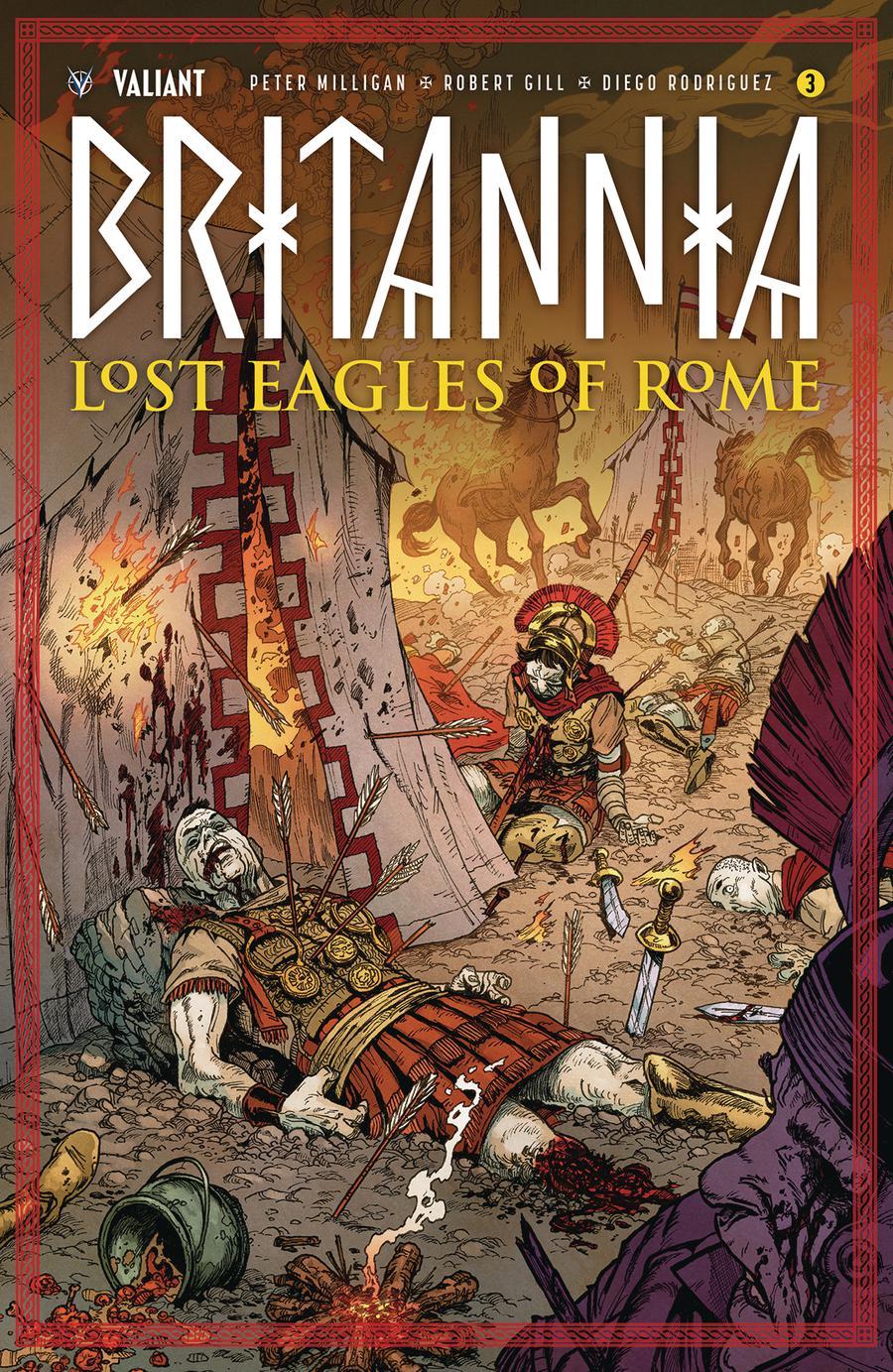 Britannia Lost Eagles Of Rome #3 Cover C Incentive Andres Guinaldo Variant Cover