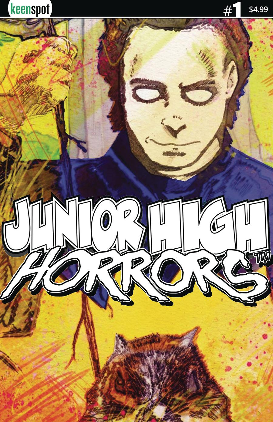 Junior High Horrors #1 Cover D Variant Rob Potchak Mikey Cover