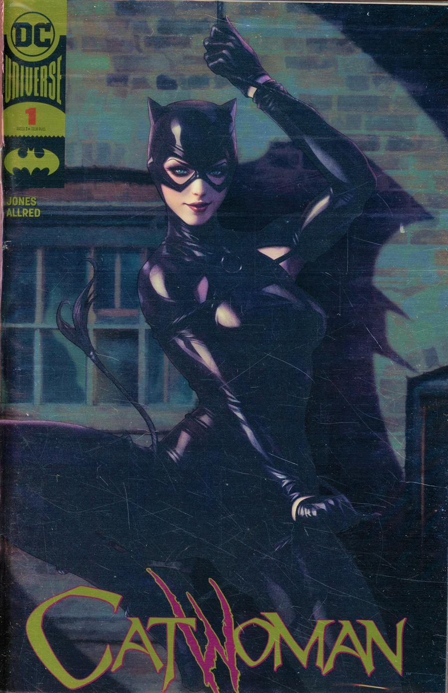 Catwoman Vol 5 #1 Cover E Stanley Artgerm Lau Gold Foil Variant Cover