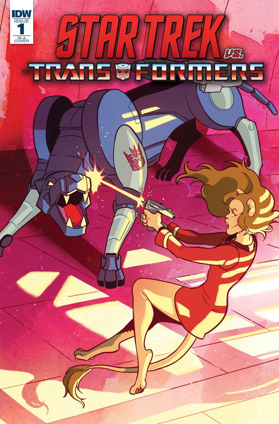 Star Trek vs Transformers #1 Cover C Incentive Paulina Ganucheau Variant Cover