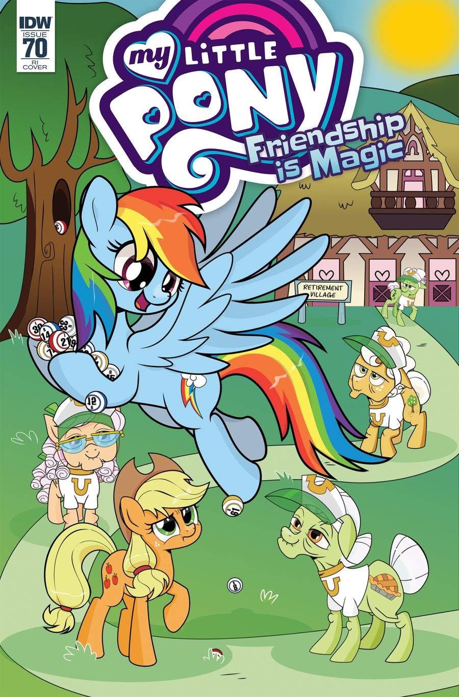 My Little Pony Friendship Is Magic #70 Cover C Incentive Magdalene Calbraith Variant Cover