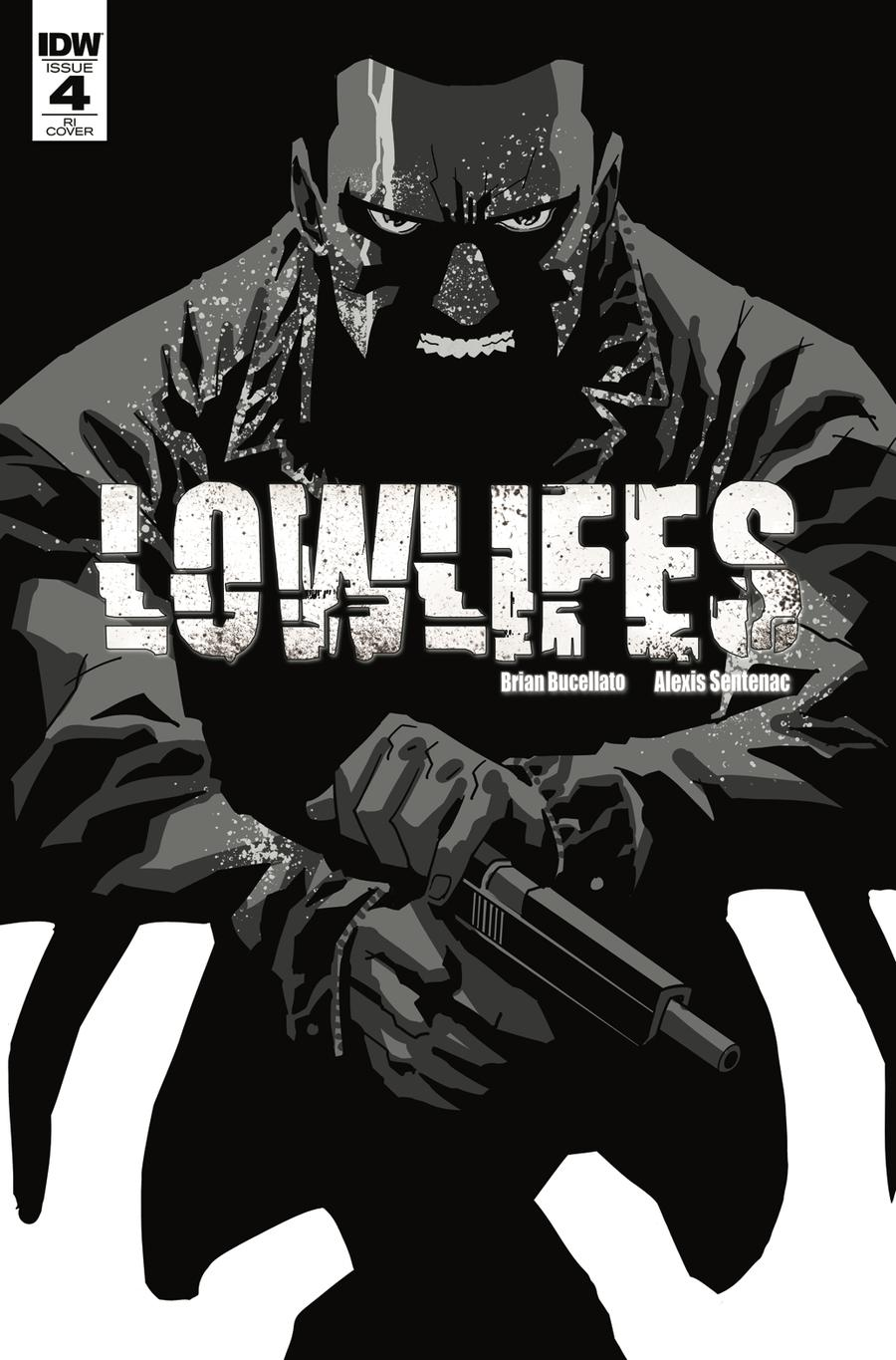Lowlifes #4 Cover B Incentive Brian Buccellato Variant Cover