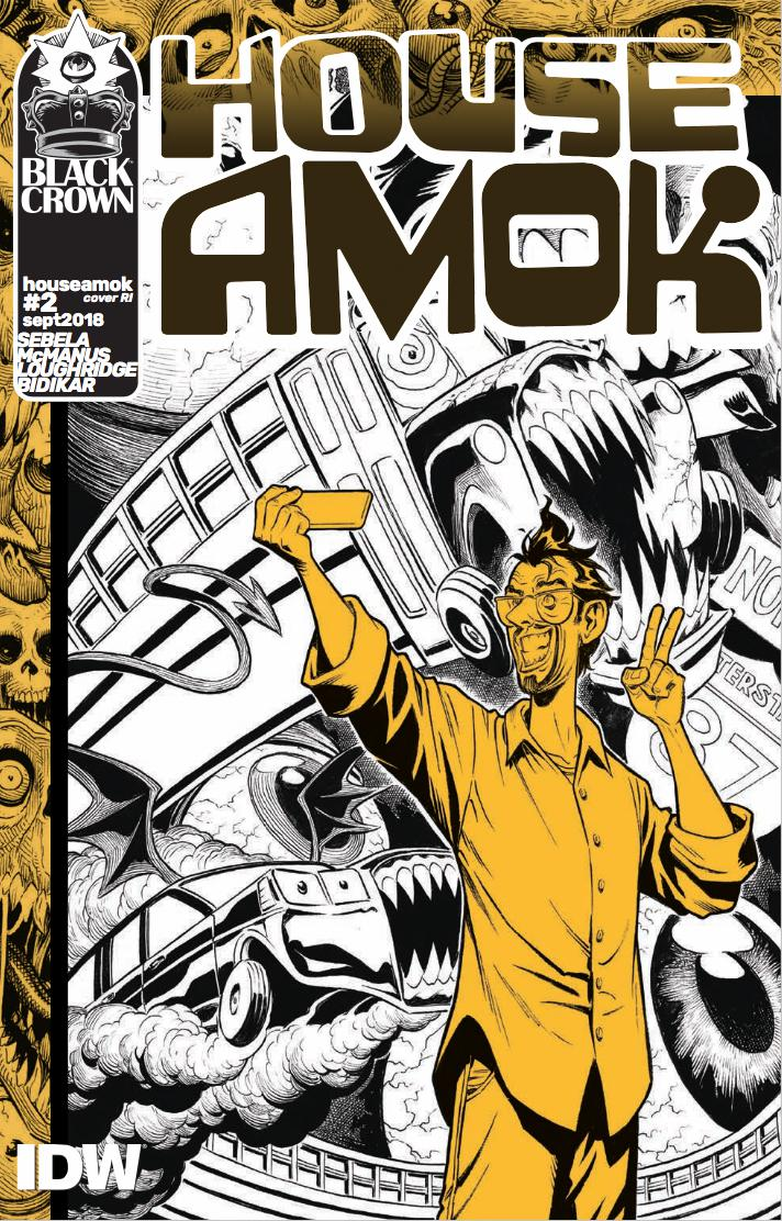 House Amok #2 Cover C Incentive Shawn McManus Variant Cover