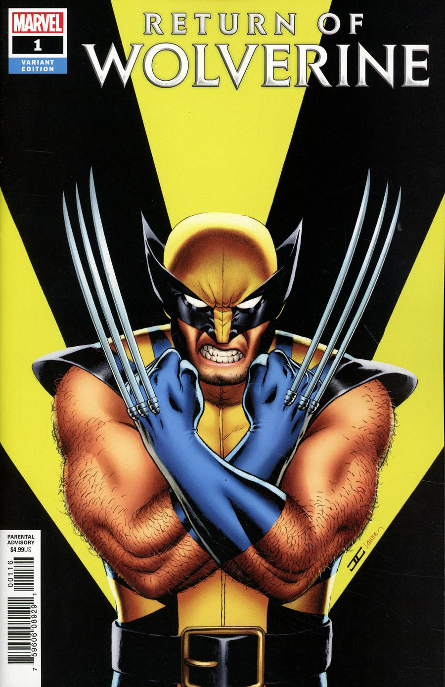 Return Of Wolverine #1 Cover N Incentive John Cassaday Variant Cover