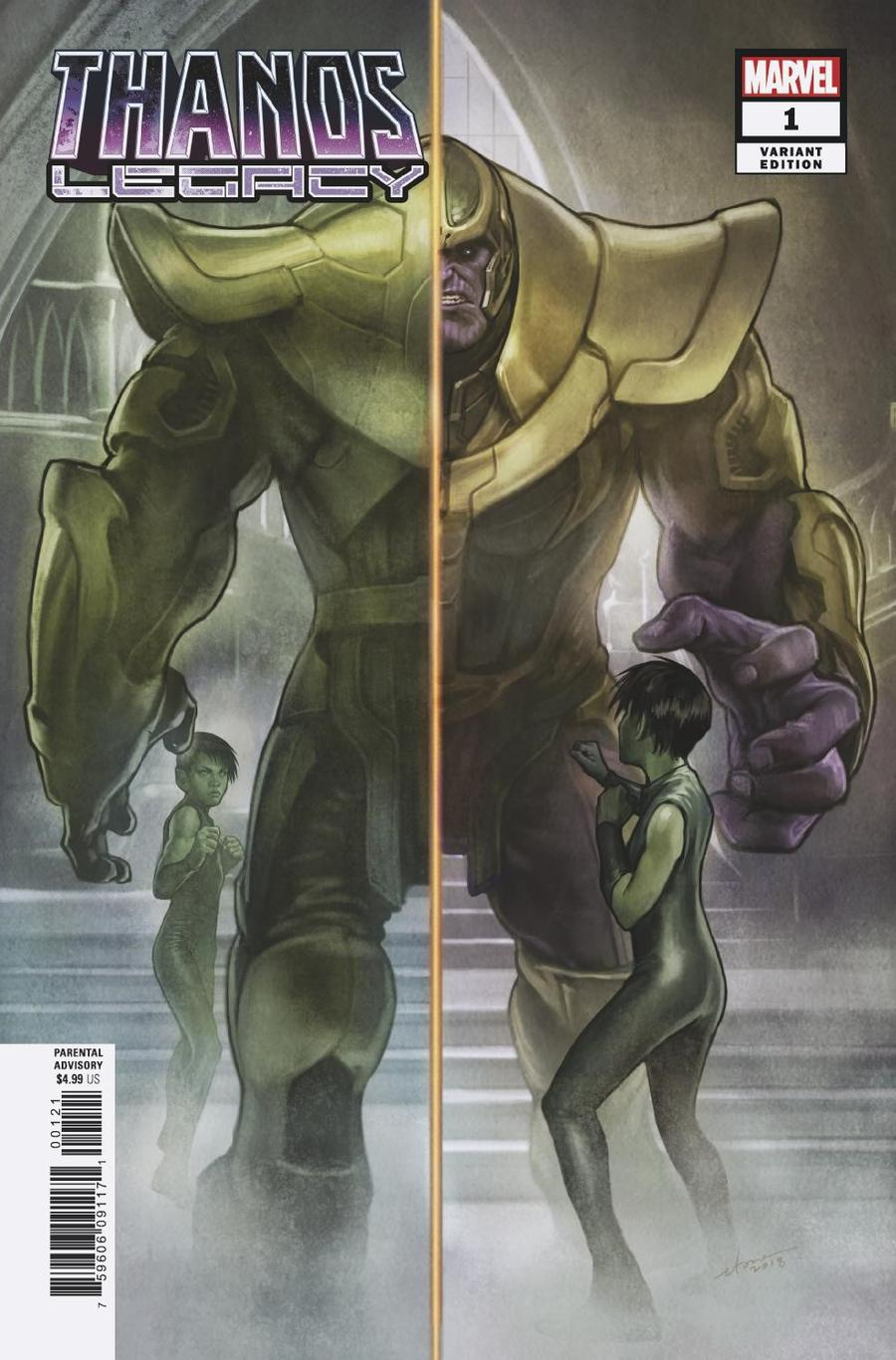 Thanos Legacy #1 Cover E Incentive Stonehouse Variant Cover