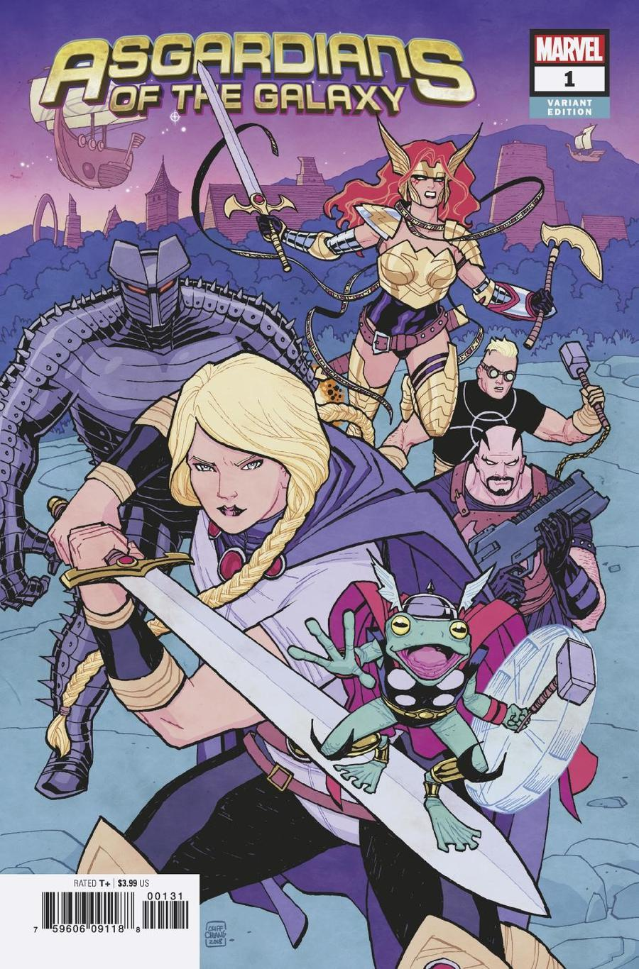 Asgardians Of The Galaxy #1 Cover D Incentive Cliff Chiang Variant Cover