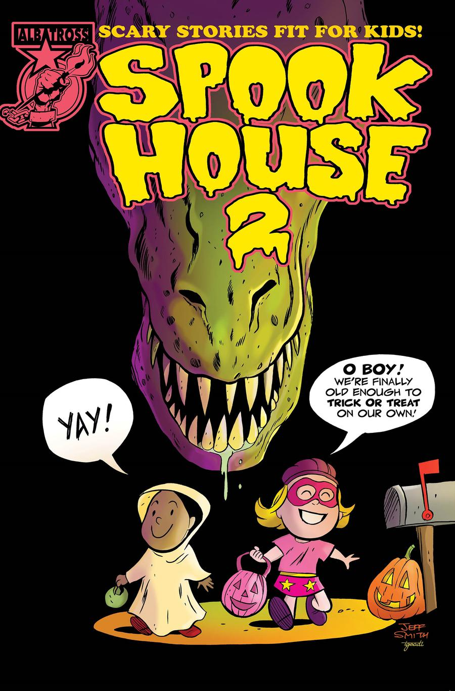 Spookhouse 2 #1 Cover B Variant Jeff Smith Cover