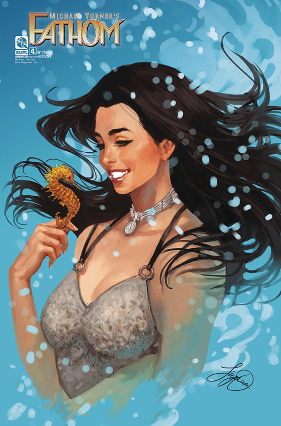 Fathom Vol 5 #4 Cover C Incentive Siya Oum Variant Cover