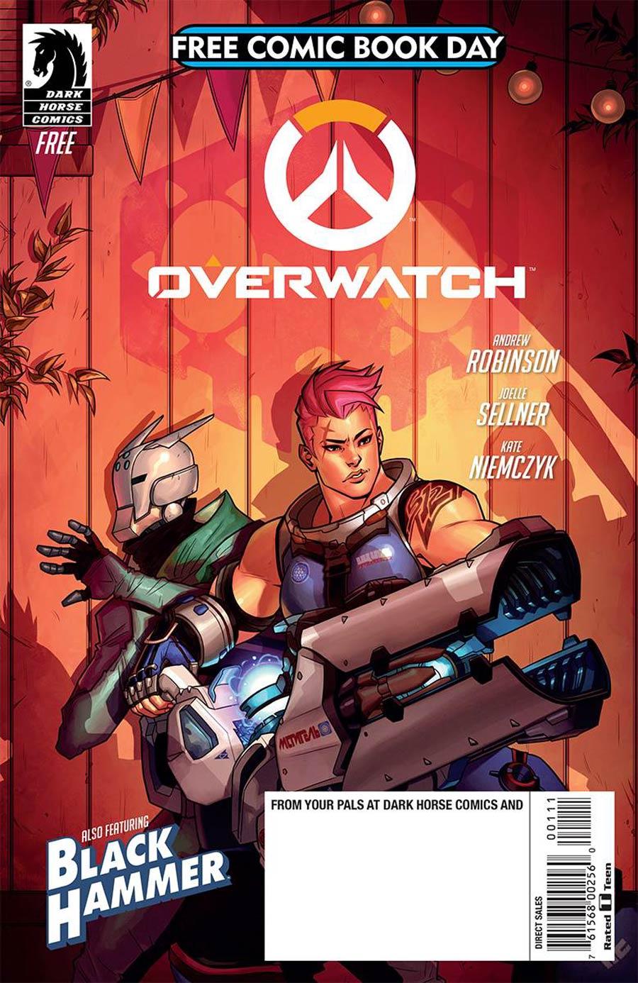 Overwatch & Black Hammer FCBD 2018