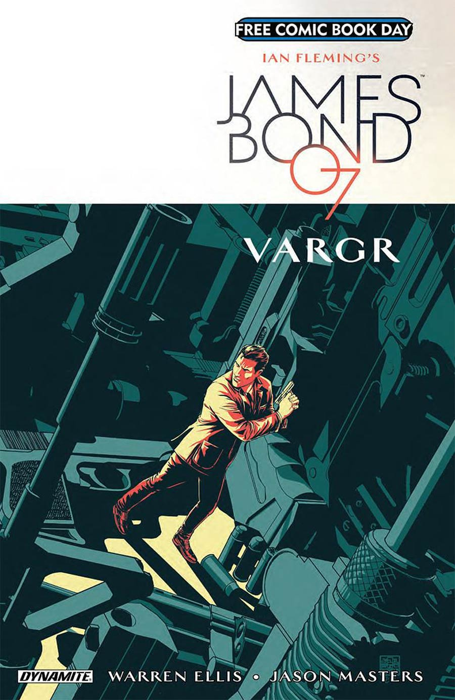 James Bond VARGR #1 FCBD 2018