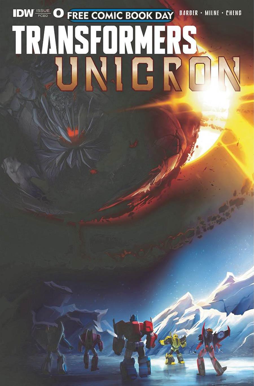 Transformers Unicron Darkest Hour #0 FCBD 2018