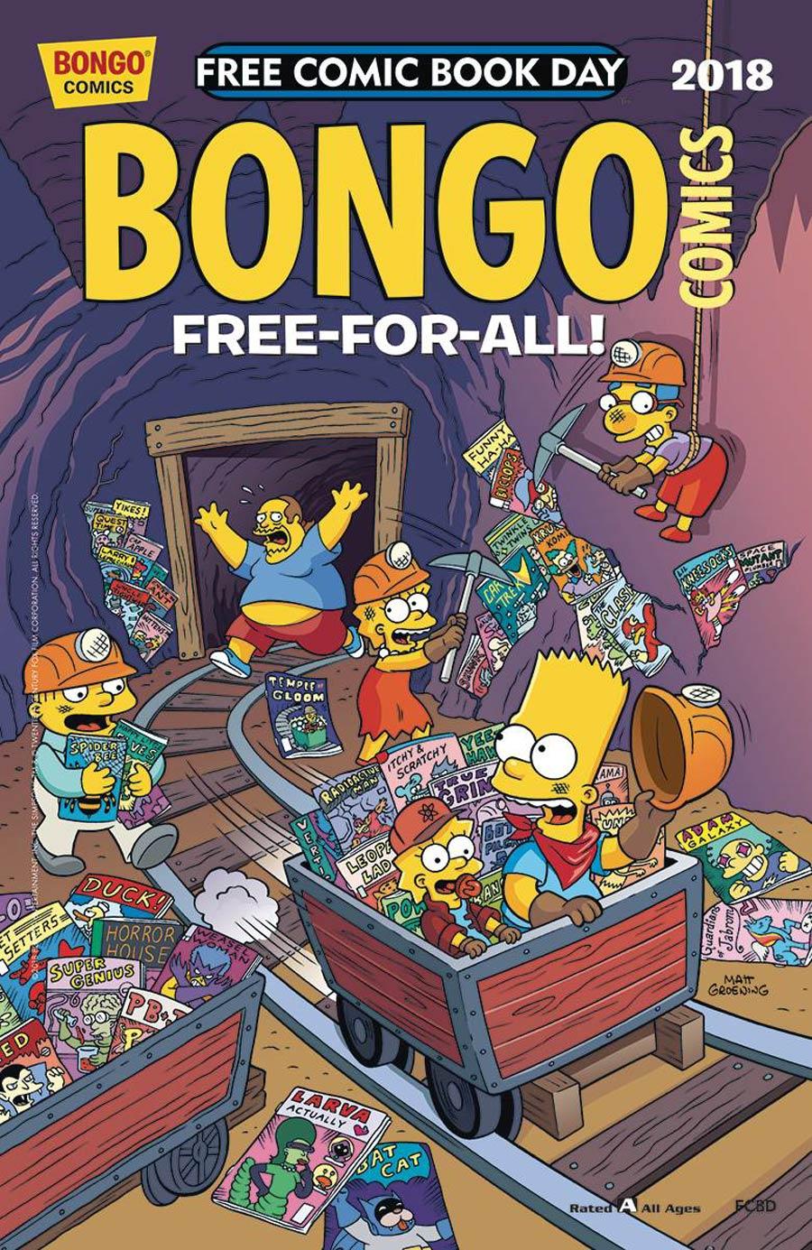 Bongo Comics Free-For-All FCBD 2018