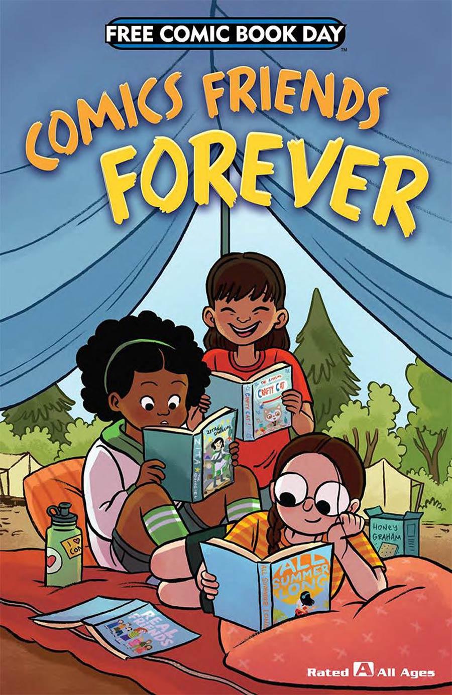 Comics Friends Forever FCBD 2018