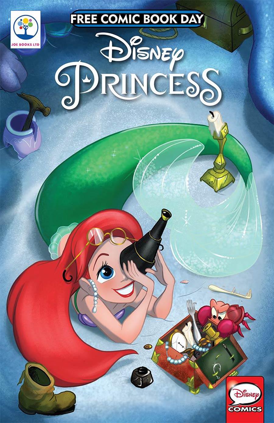 Disney Princess Ariel Spotlight FCBD 2018