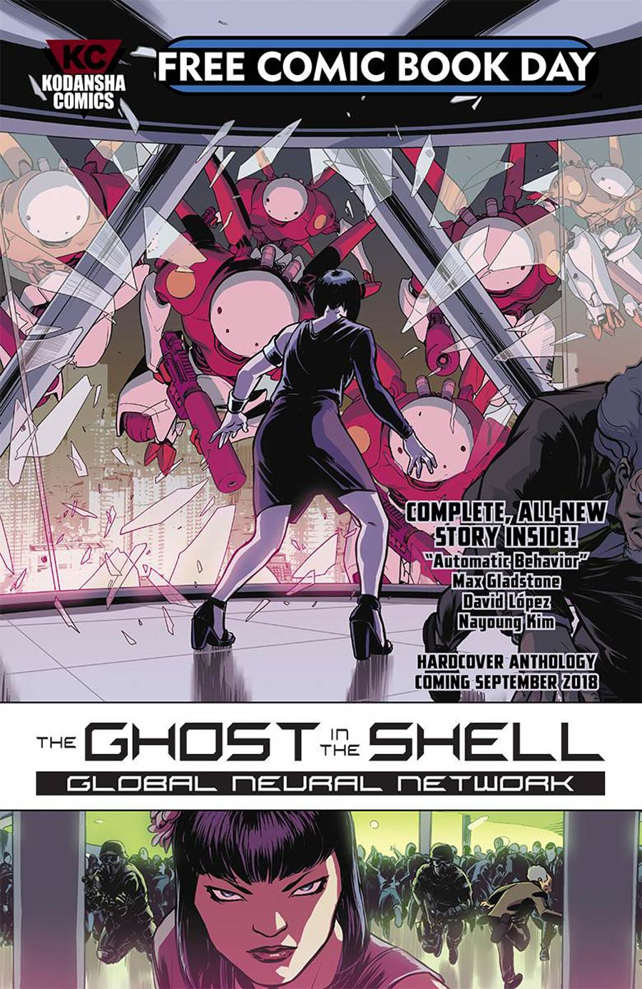Ghost In The Shell Global Neural Network Preview FCBD 2018