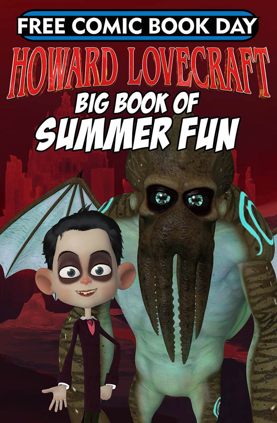 Howard Lovecrafts Big Book Of Summer Fun FCBD 2018