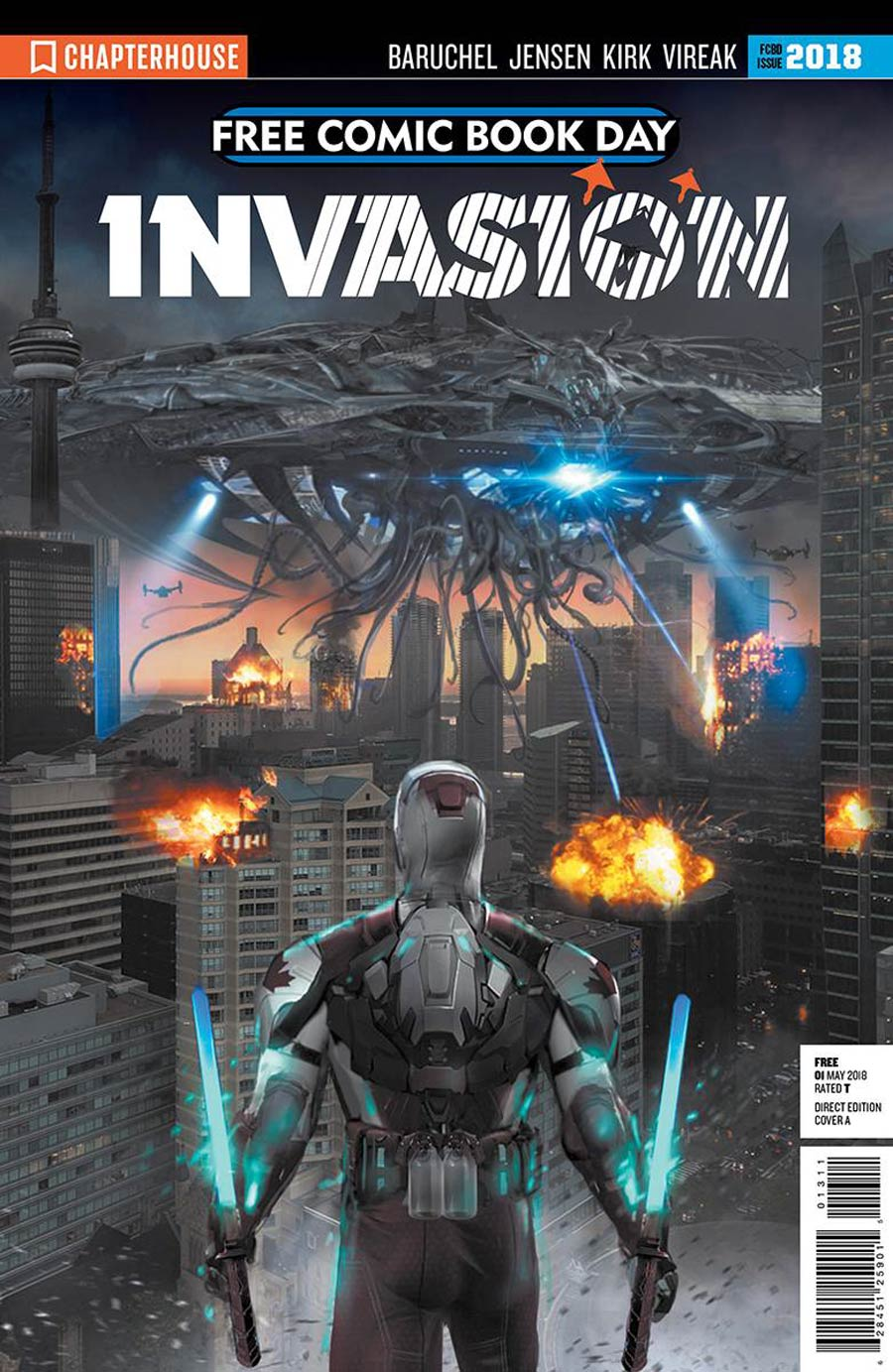 Invasion Prologue FCBD 2018