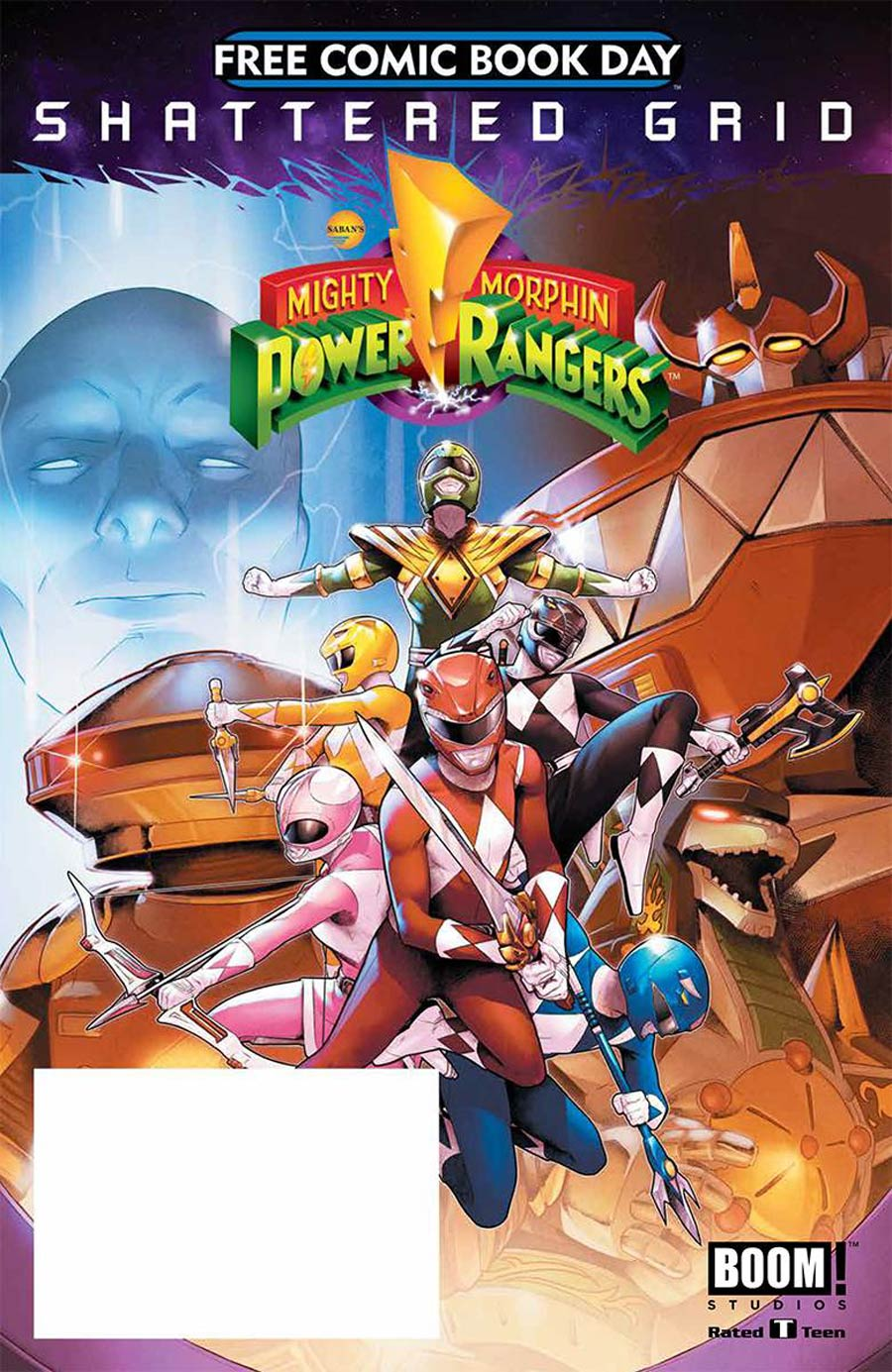 Mighty Morphin Power Rangers Special FCBD 2018
