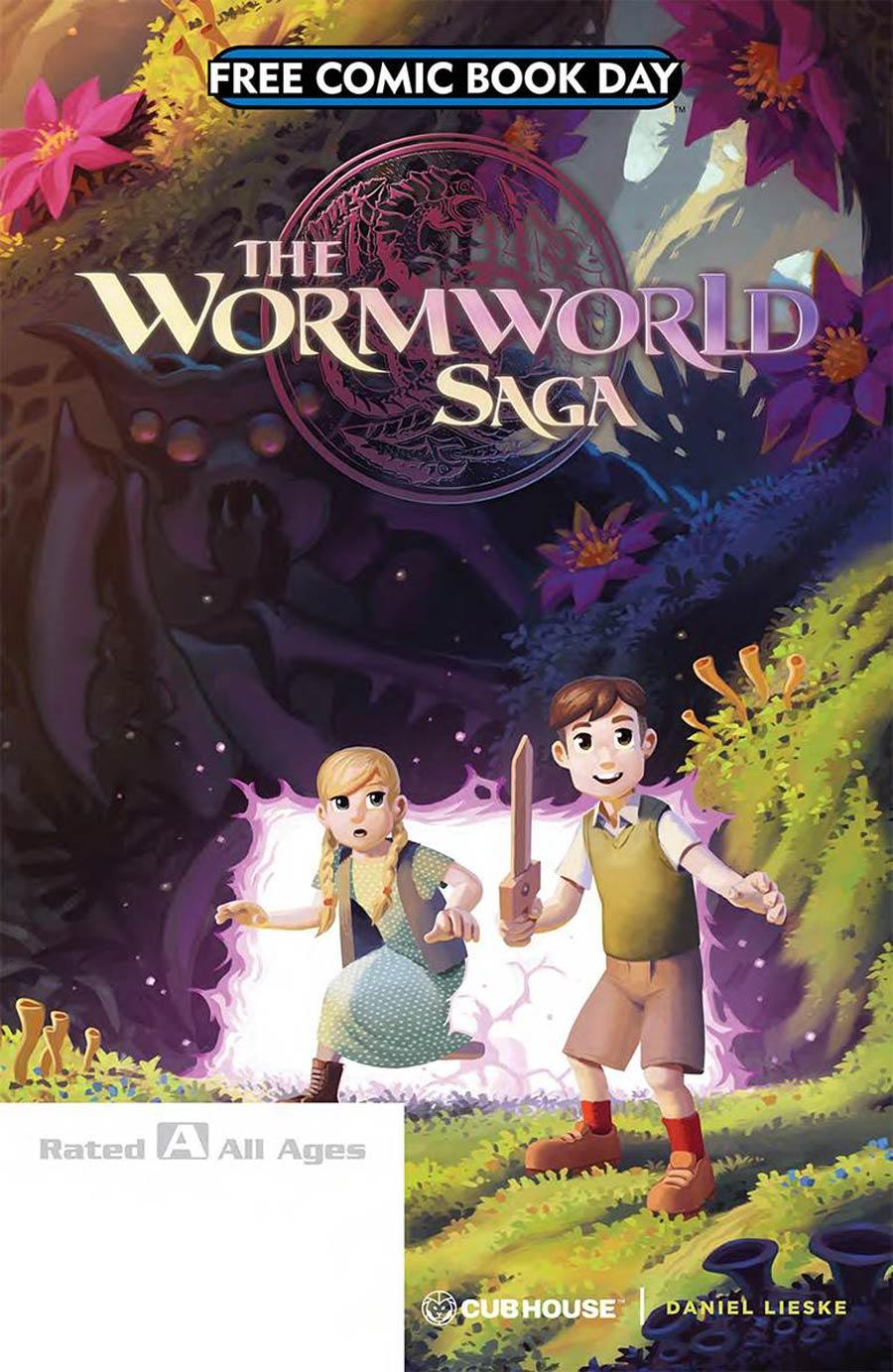 Wormworld Saga Journey Begins FCBD 2018