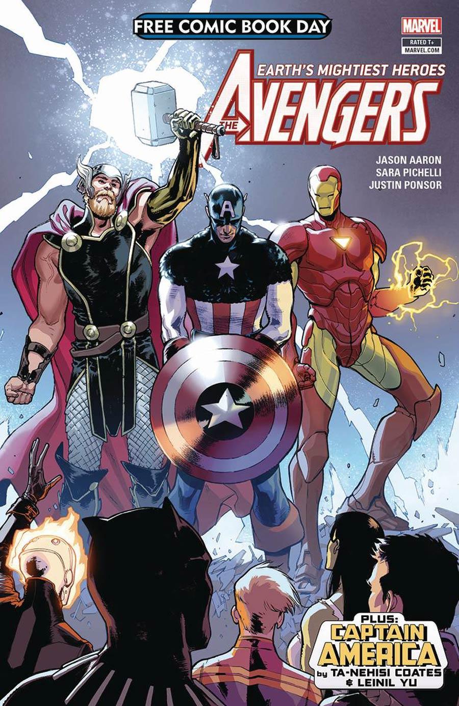 Avengers Captain America FCBD 2018 Cover A Regular Version