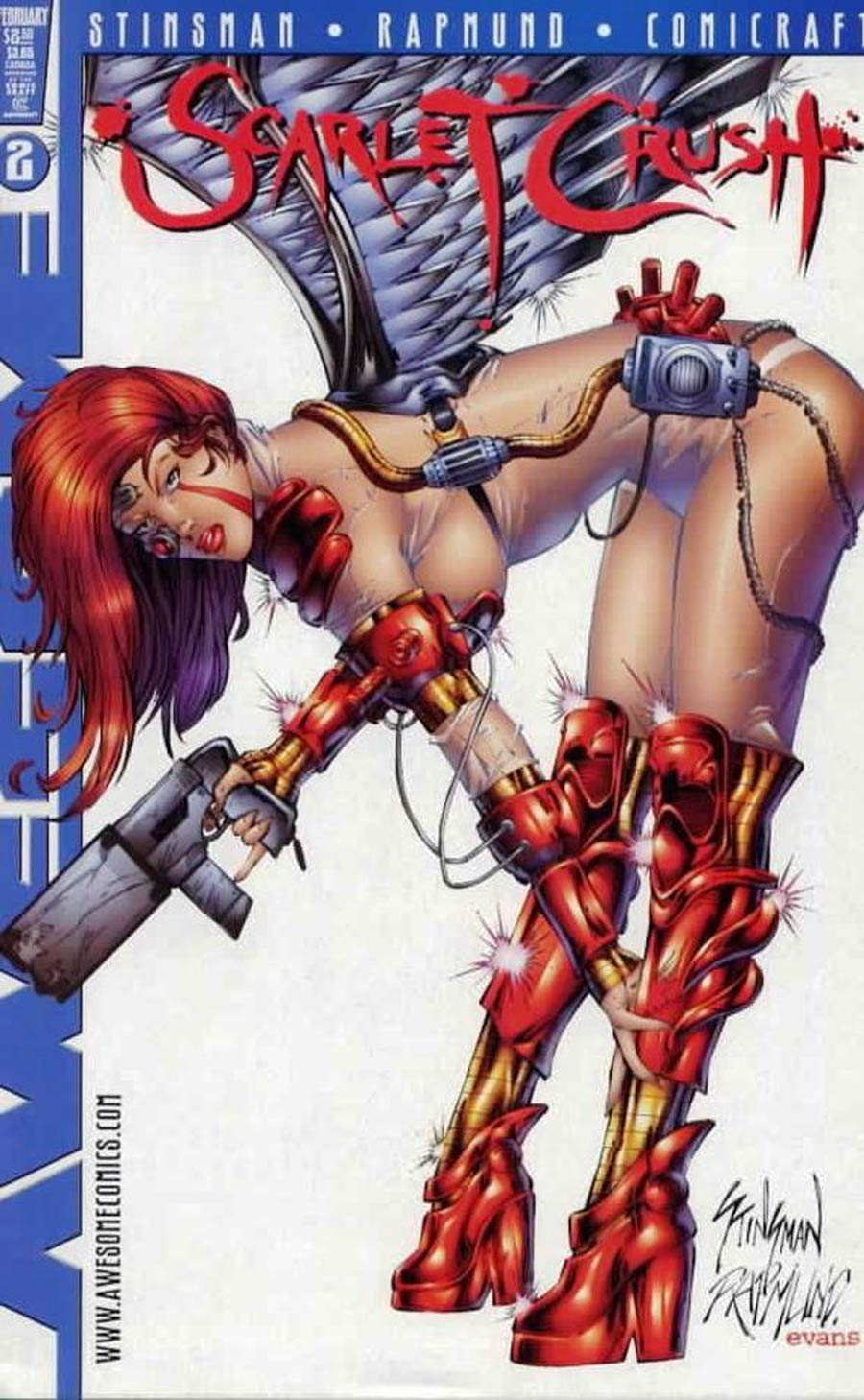 Scarlet Crush #2 Cover B Stinsman