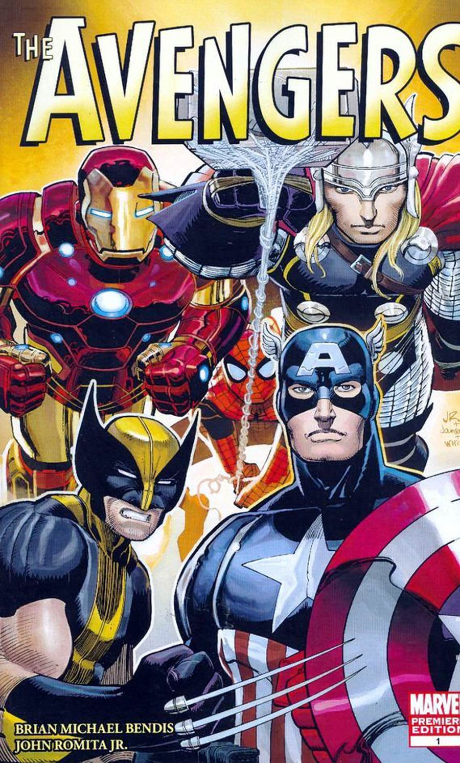 Avengers Vol 4 #1 Cover E Incentive Retailer Edition John Romita Jr Variant Cover (Heroic Age Tie-In)