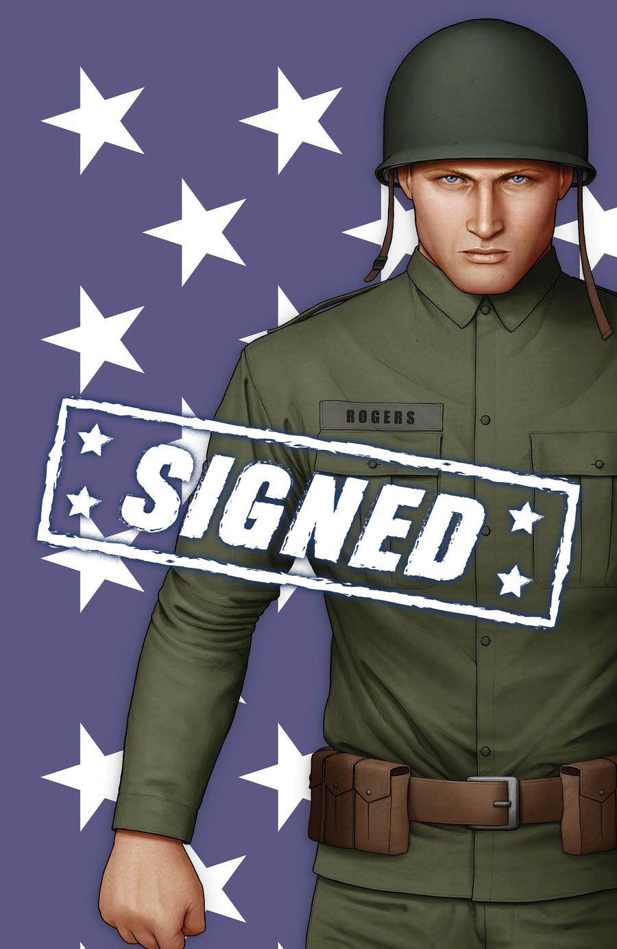 Captain America Vol 9 #1  Midtown Exclusive John Tyler Christopher Cover S Set With Private Rogers Virgin Variant Signed By John Tyler Christopher