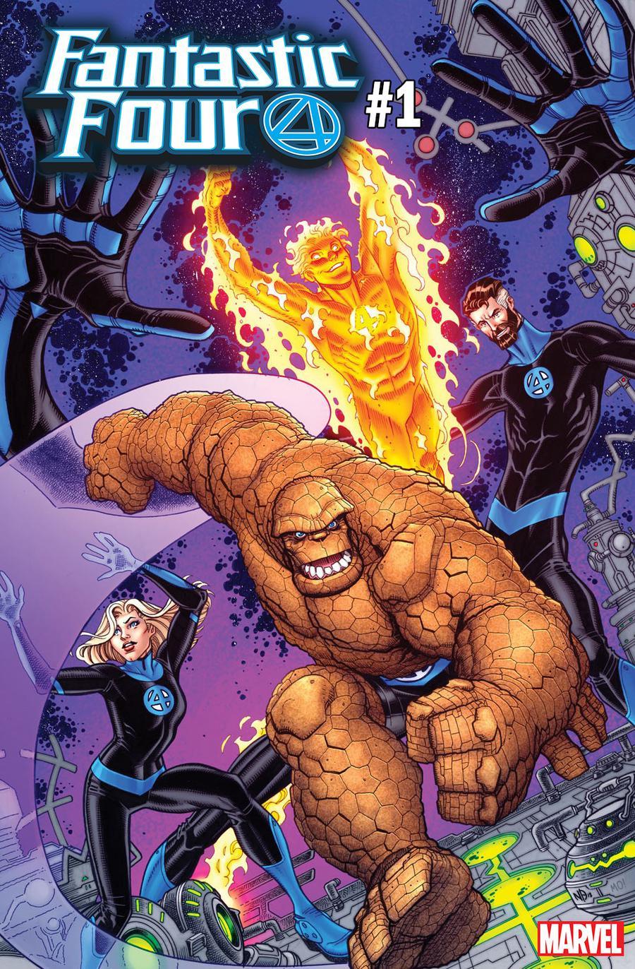 Fantastic Four Vol 6 #1 Cover J Variant Nick Bradshaw Cover