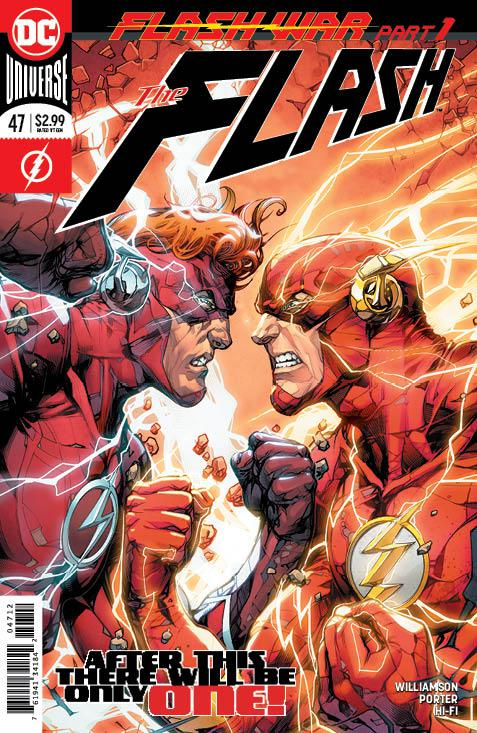 Flash Vol 5 #47 Cover C 2nd Ptg Variant Howard Porter Cover